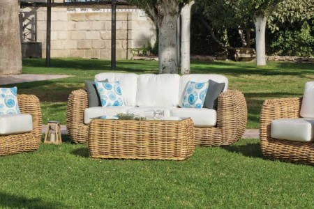 Salon Collection RATTAN LUX 01