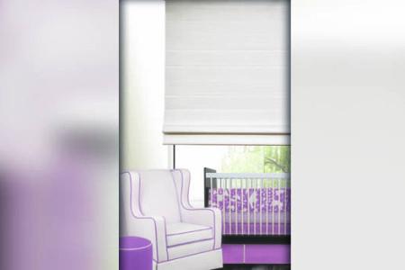 Modern bright interior with furniture